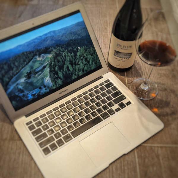 laptop viewing of BBV film