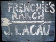 Frenchie's Ranch sign