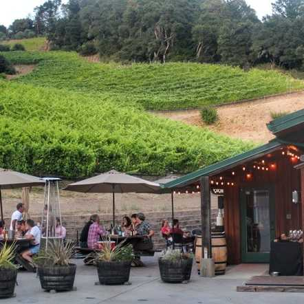 winery patio